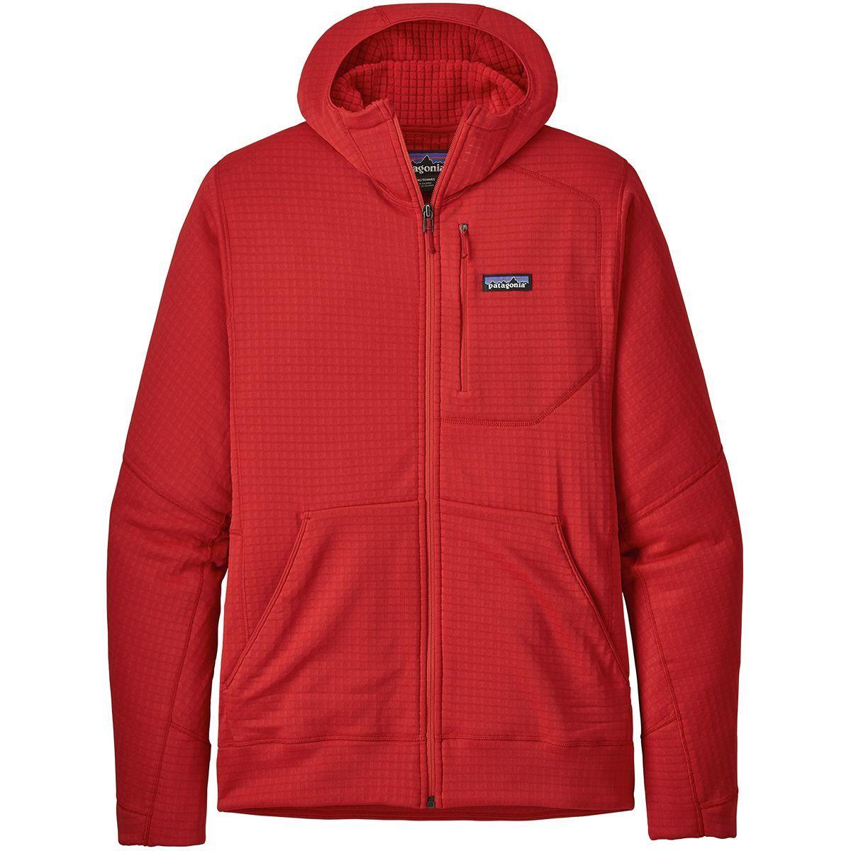 Patagonia R1 Full-Zip Hooded Fleece Jacket - Men's
