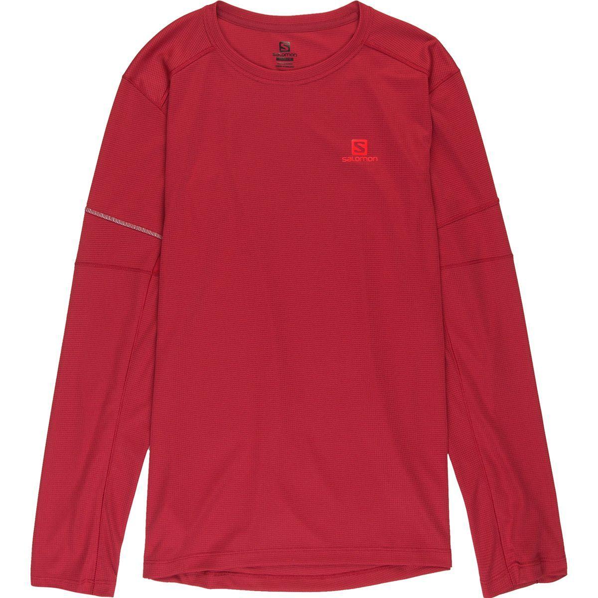 Salomon Agile Long-Sleeve T-Shirt - Men's