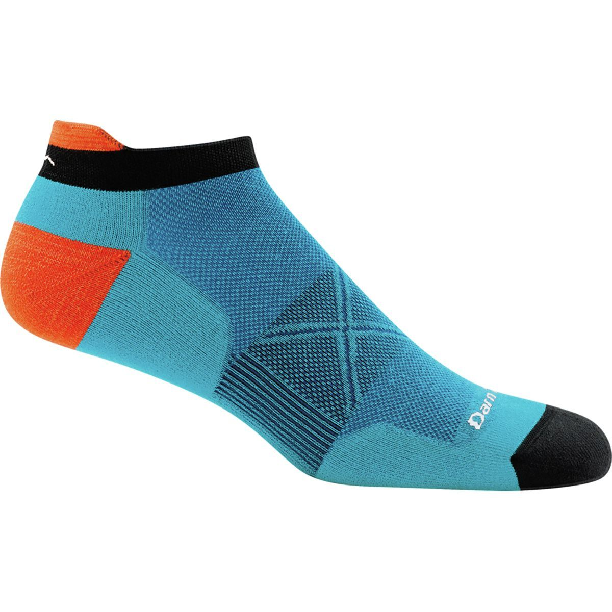 Darn Tough Vertex Stipe No Show Tab Ultra-Light Sock - Men's