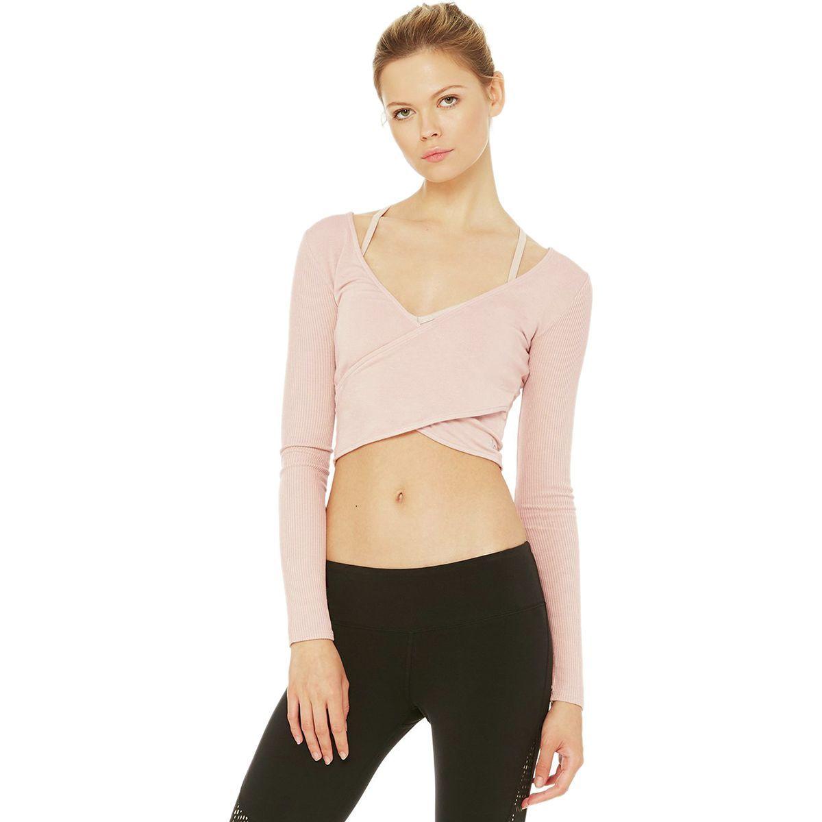 Alo Yoga Amelia Crop Shirt - Women's