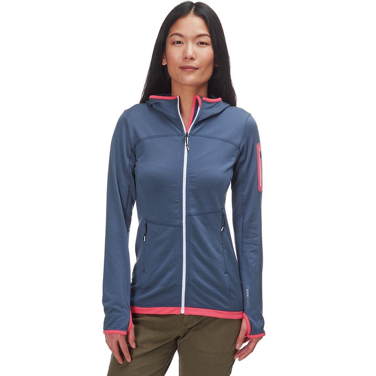 Ortovox Fleece Light Hooded Jacket - Women's