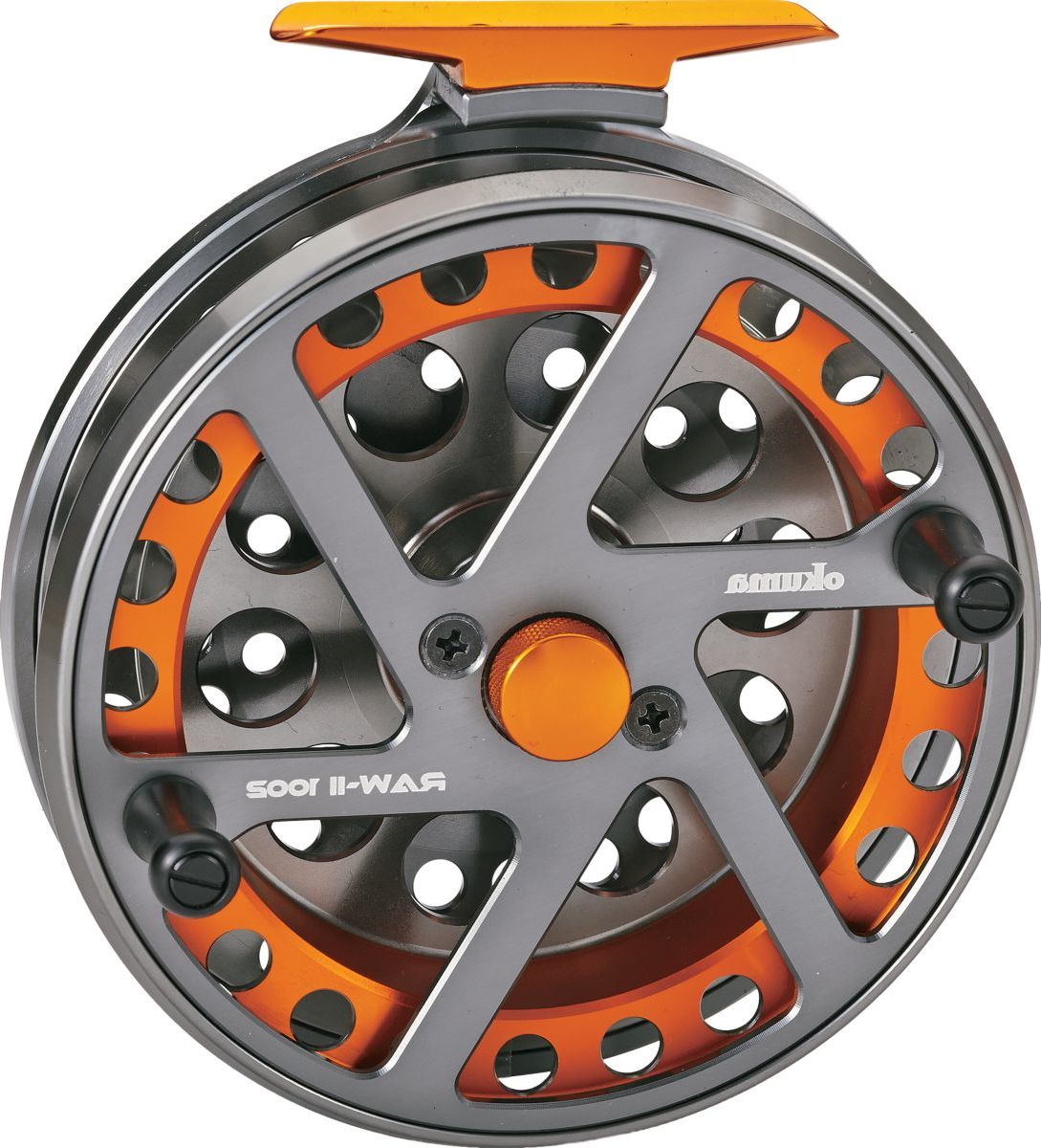 Okuma Raw II Center Pin Reel