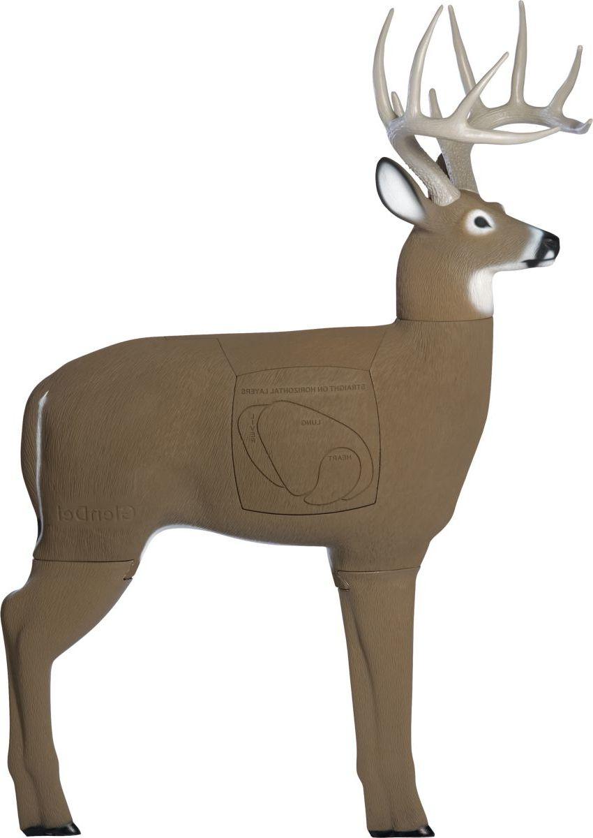 GlenDel™ Buck Four-Sided 3-D Target
