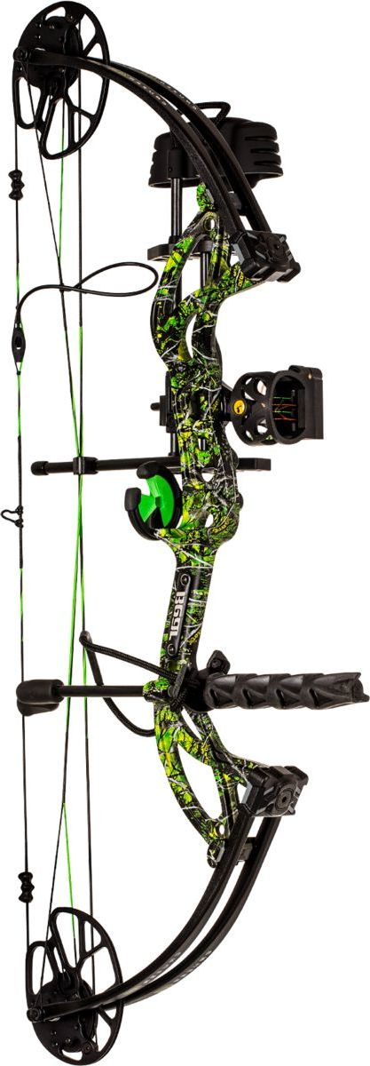 Bear® Archery Cruzer G2 RTH Compound-Bow Package – Toxic