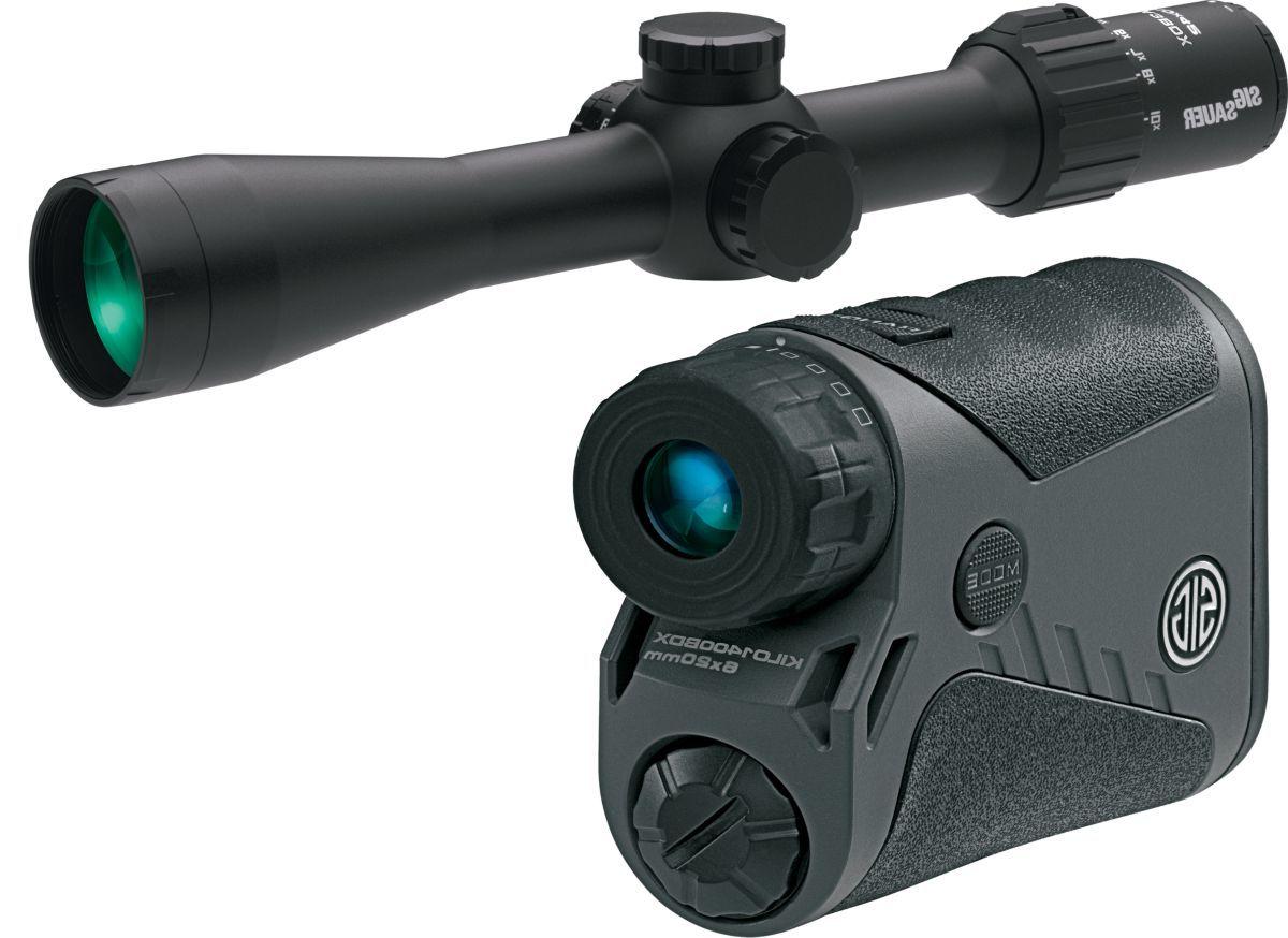 SIG Sauer® SIERRA3BDX™ Riflescope and KILO BDX™ Rangefinder Kit
