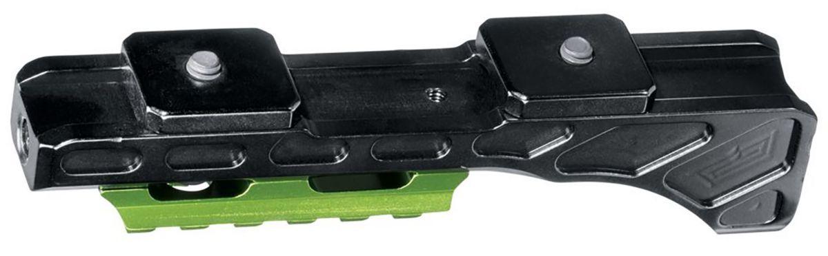Muzzy® Bowfishing Reel Seat with Picatinny Rail