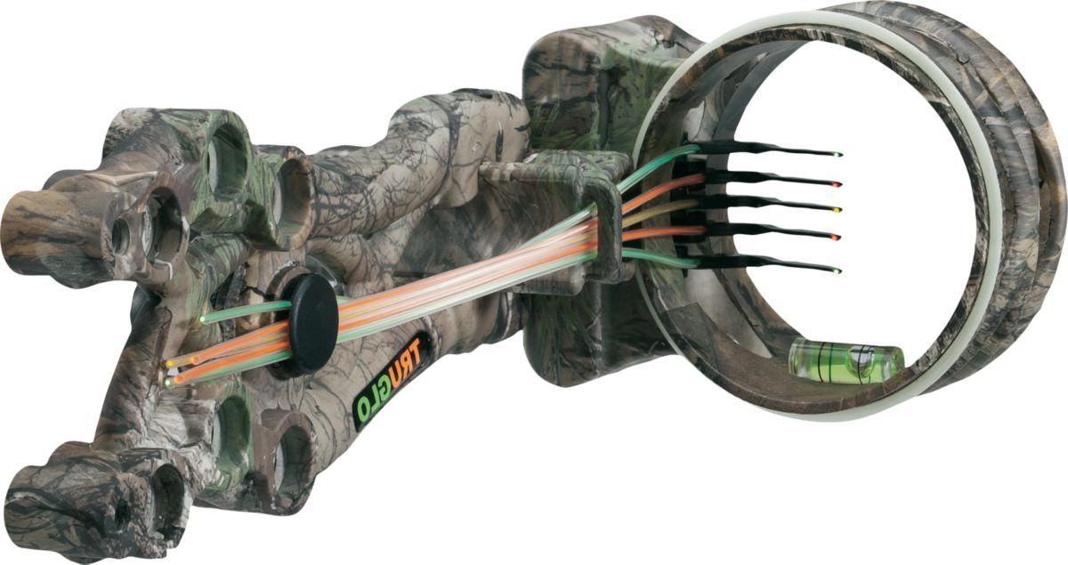 TRUGLO® Carbon XS Xtreme Camo Five-Pin Sight