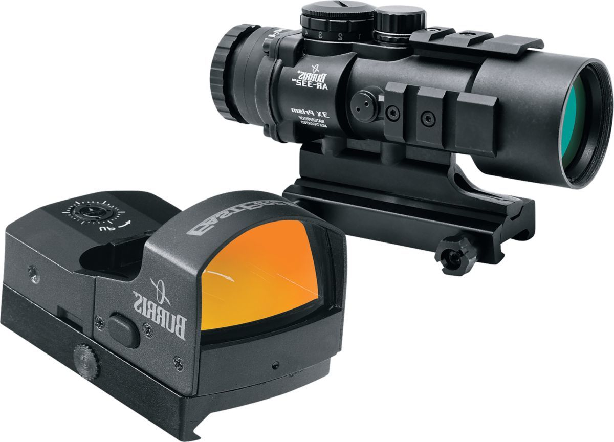 Burris® AR Tactical Prism Scope with FastFire™ 3 Red-Dot Sight Combo